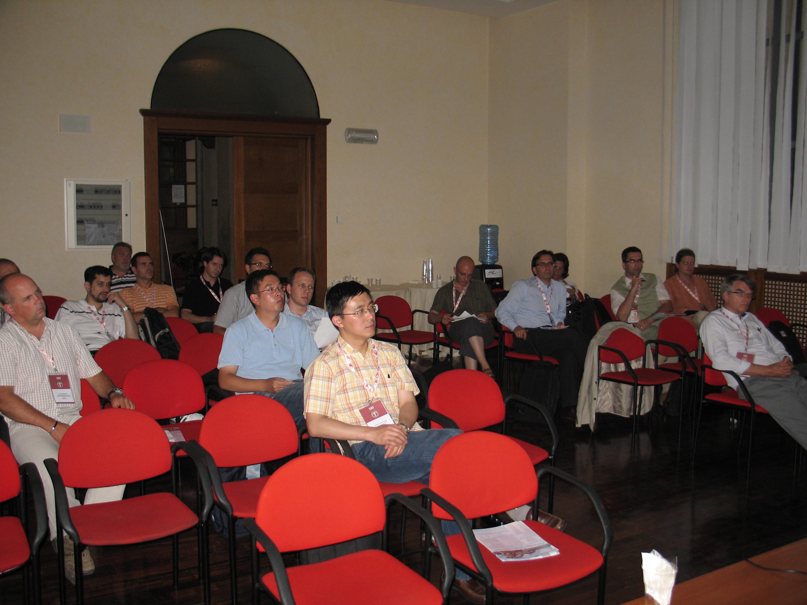 TC8.2 open meeting in Milano